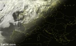 SAT-Bild Europa IR